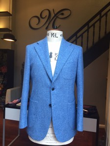 Michelsberg Conchiglia Jacket in Moon Tweed