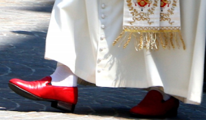 Pope's shoes